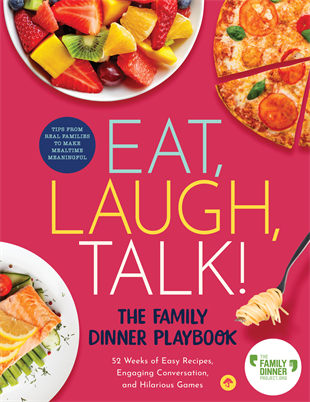 Family Meals with Bri DeRosa via lizshealthytable.com #podcast