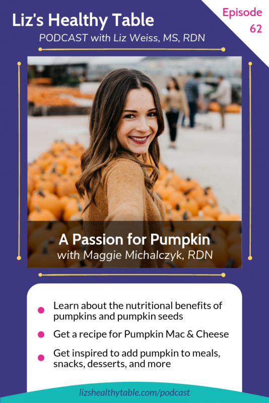 Liz's Healthy Table #podcast on Pumpkin