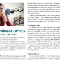 Popular Podcasts by RDs (Today's Dietitian)