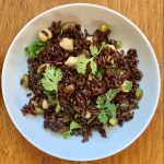 Moroccan Forbidden Rice Salad