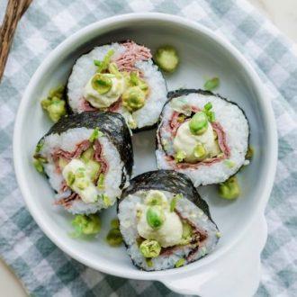 """A Tasty Twist on Sushi: Beefy Cali Roll """"Beefshi"""""""