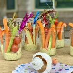 Herby White Bean Dip with Crunchy Veggies | Plus, 6 Covid-Safe Summer Entertaining Tips
