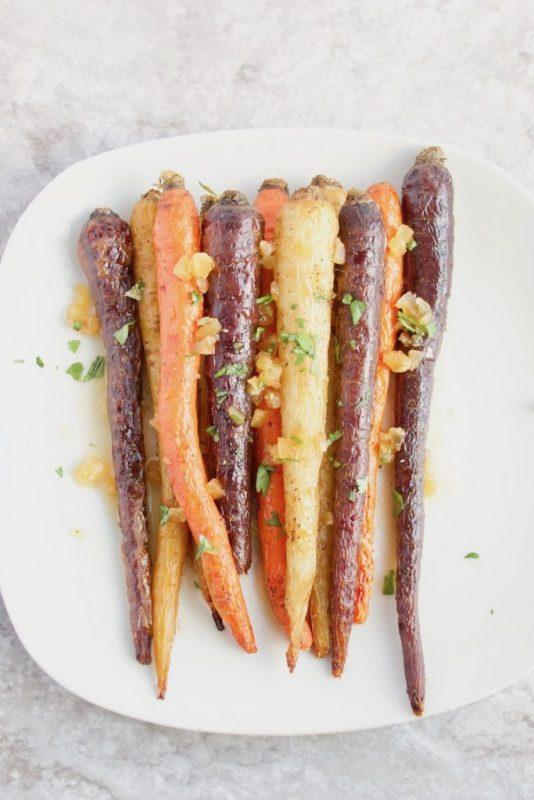 46 Recipes for Carrot and Carrot Greens (AKA Carrot Tops) via Lizshealthytable.com
