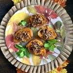 Maple Pecan Stuffed Sweet Potatoes for Thanksgiving