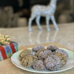 Gluten-Free Chocolate, Orange & Almond Sparkle Cookies | Adding Joy to Holiday Baking
