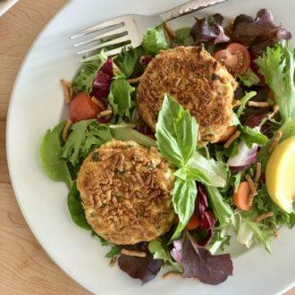 Crispy Mediterranean Fiber One Cereal Tuna Cakes