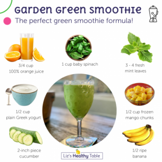 Garden Green Smoothie | An (Hopefully) Easy Way to Introduce More Green Foods Into Your Kids' Diets