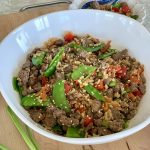 Rainbow Veggie & Beef Fried Rice