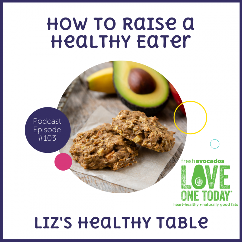 Podcast Episode 103: How to Raise a Healthy Eater