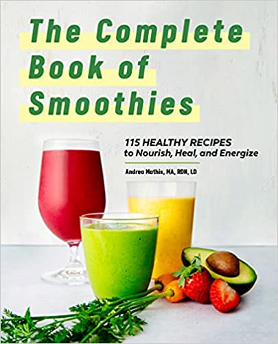 Smoothie book by Andrea Mathis #podcast