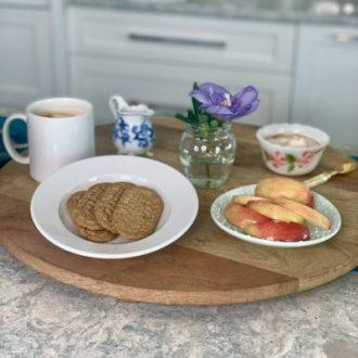 Dip-It-Sip-It Cranberry Orange belVita Breakfast Board